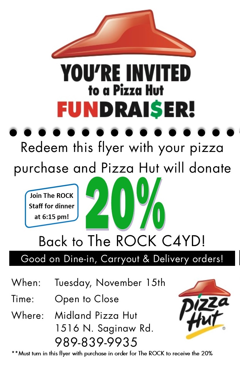 pizza hut organization Raise funds fast with a pizza hut fundraiser - choose between sales of a $10 pizza discount card with two-for-one pizzas or host a pizza night at pizza hut.